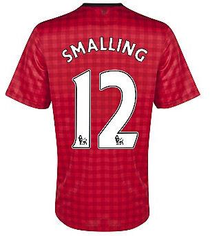2012-13 Man Utd Nike Home Shirt (Smalling 12) - Kids