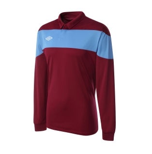 Umbro Pinnacle LS Teamwear Shirt (maroon)