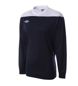 Umbro Cosmos LS Teamwear Shirt (navy)