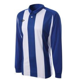 Umbro Clifton LS Teamwear Shirt (blue-white)