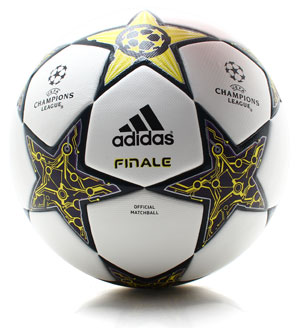 Finale 12 Official Champions League Match Football White/Lime