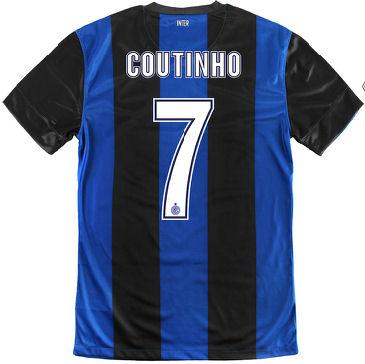 2012-13 Inter Milan Nike Home Shirt (Coutinho 7) - Kids