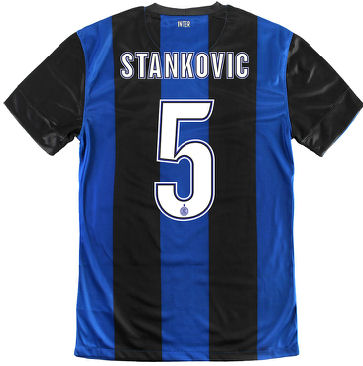 2012-13 Inter Milan Nike Home Shirt (Stankovic 5) - Kids