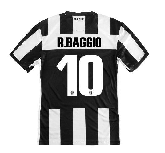2012-13 Juventus Nike Home Shirt (R.Baggio 10) - Kids