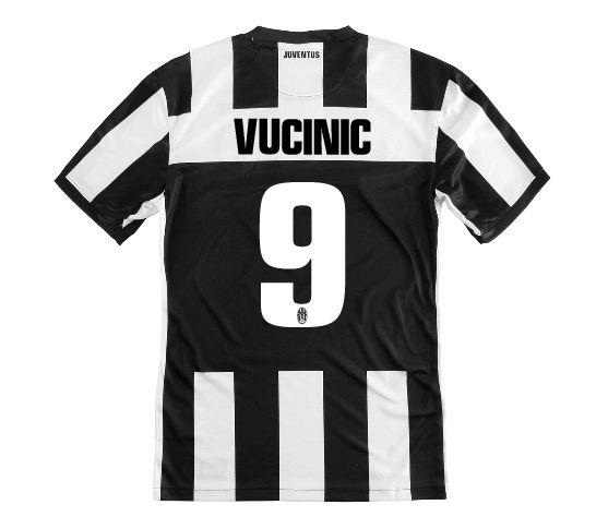 2012-13 Juventus Nike Home Shirt (Vucinic 9) - Kids