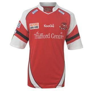 2012-13 Salford City Kooga Home Rugby Shirt