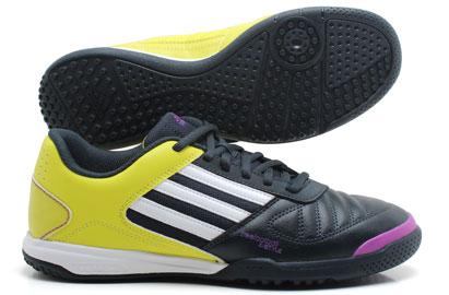 Adi 5 X Style Astro Turf /3G Football Trainer Tech Onix/White