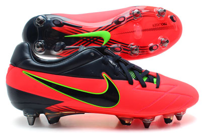 Total 90 Laser IV SG Pro Football Boots Bright Crimson/Obsidian