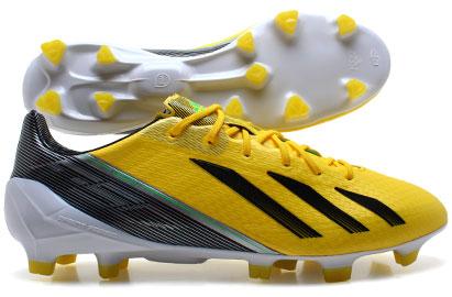 F50 adiZero TRX FG Football Boots Vivid Yellow/Green Zest/Black