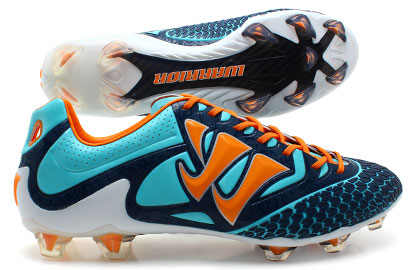 Skreamer Pro S-Lite FG Football Boots Blue Radiance/Orange