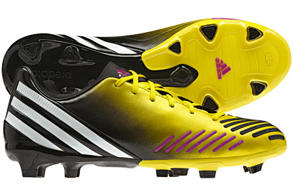 Predator Absolion LZ TRX FG Kids Football Boots Vivid Yellow/Vivid Pink/Running White