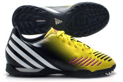 Predator Absolado LZ TRX TF Kids Football Trainers Vivid Yellow/Black/Running White