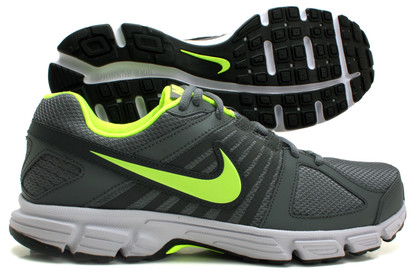 Nike Downshifter 5 Running Shoes Cool Grey/Volt Green/White