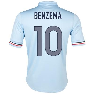 2013-14 France Away Shirt (Benzema 10) - Kids