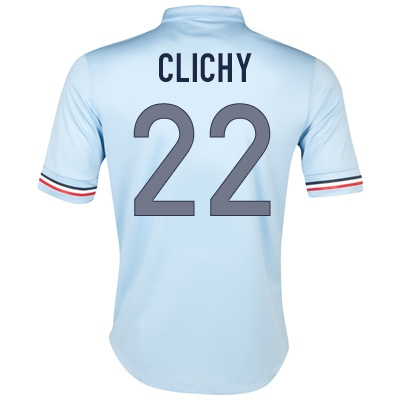 2013-14 France Away Shirt (Clichy 22) - Kids