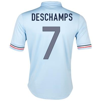 2013-14 France Away Shirt (Deschamps 7)