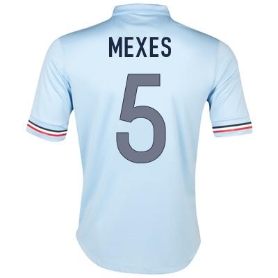 2013-14 France Away Shirt (Mexes 3)