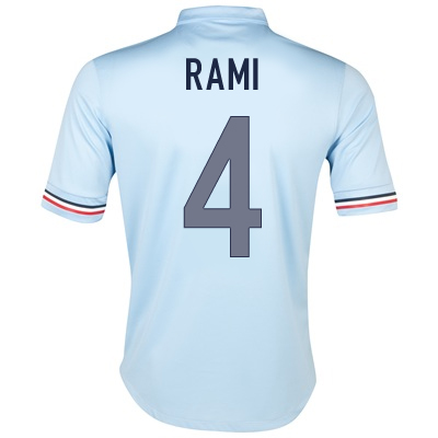 2013-14 France Away Shirt (Rami 4) - Kids