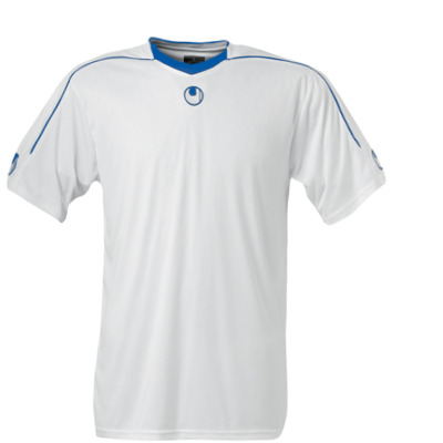 Uhlsport Stream II SS Shirt (white-blue)