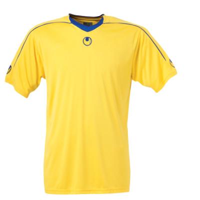Uhlsport Stream II SS Shirt (yellow-blue)