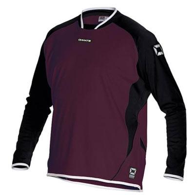 Stanno Porto LS Shirt (maroon-black)