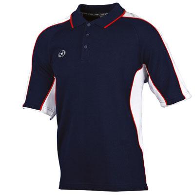 Prostar Atlas Polo Shirt (navy-white-red)