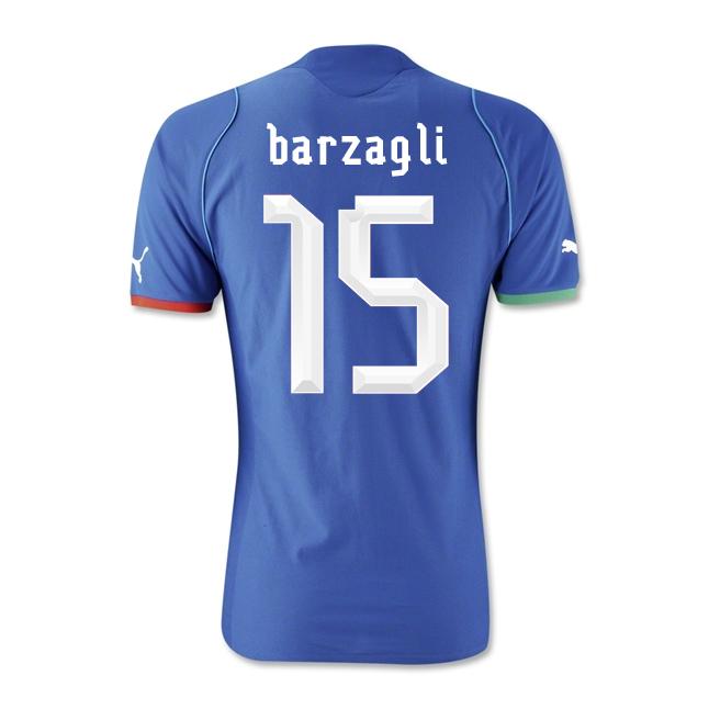 2013-14 Italy Home Shirt (Barzagli 15) - Kids