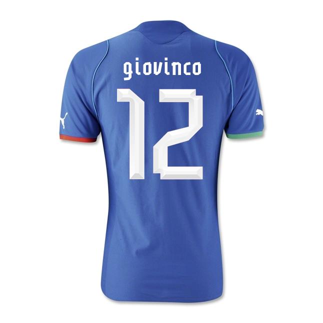 2013-14 Italy Home Shirt (Giovinco 12) - Kids
