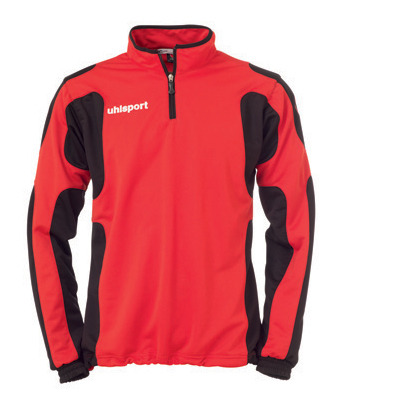 Uhlsport Cup Half Zip Training Top (red)