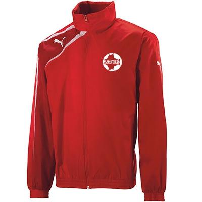 United Football Academy Spirit Rainjacket (Red)