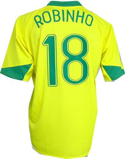 Brazil home (Robinho 18) 06/07
