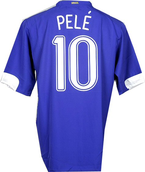 Brazil away (Pele 10) 06/07