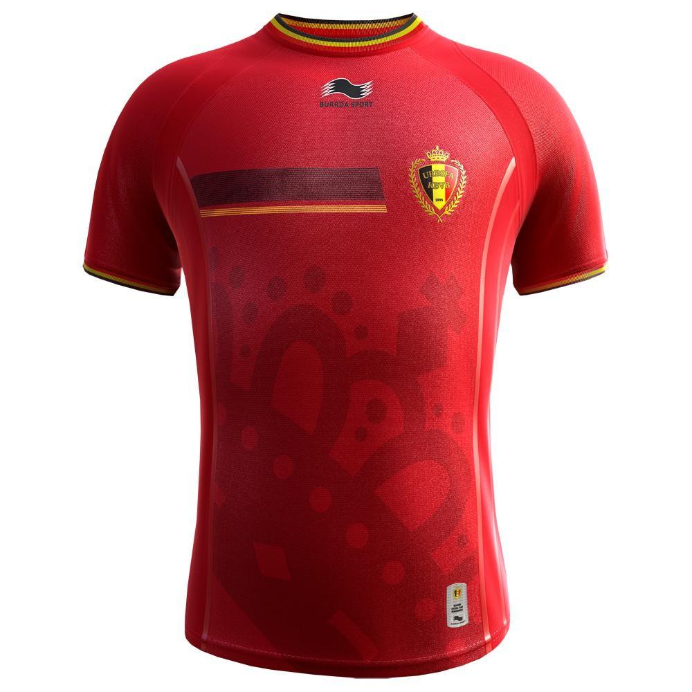 2014-15 Belgium Home World Cup Football Shirt (Kids)