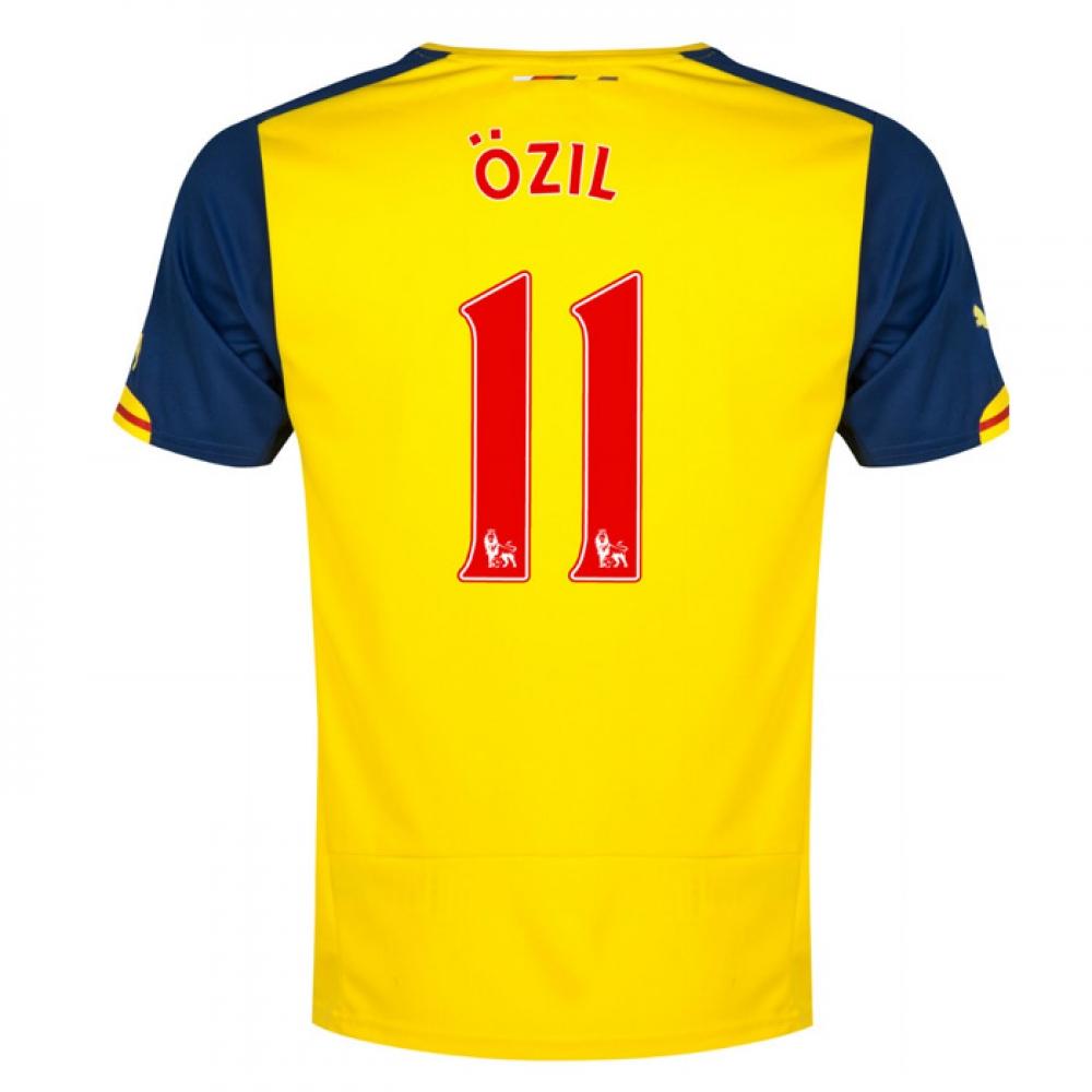 2014-15 Arsenal Away Shirt (Ozil 11)