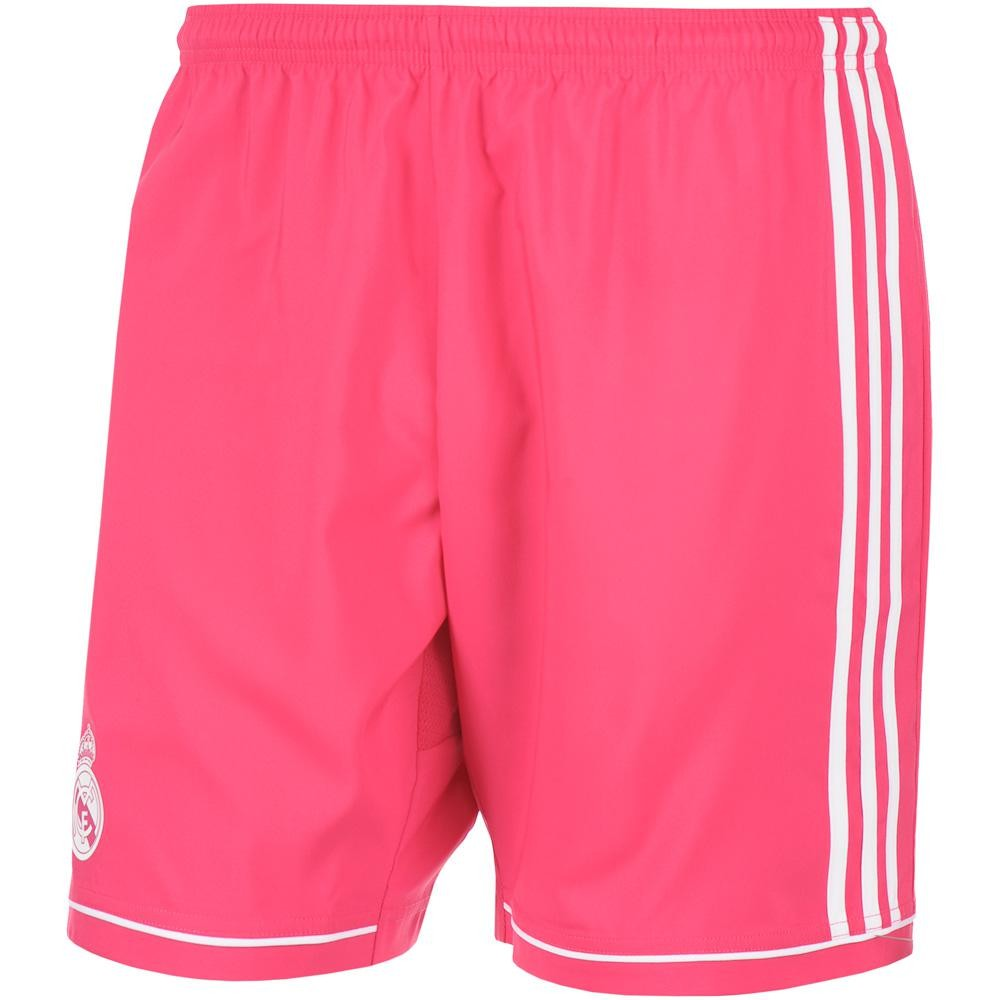 2014-2015 Real Madrid Adidas Third Shorts (Black) - Kids