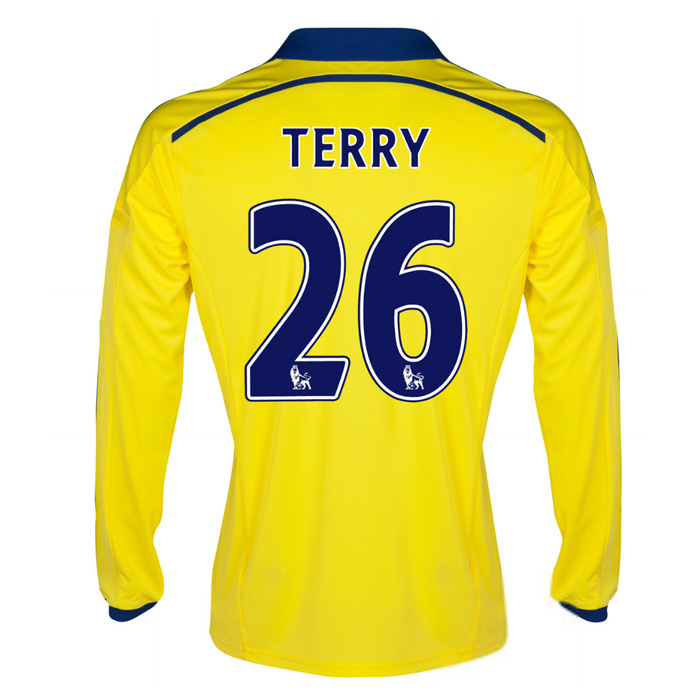2014-15 Chelsea Long Sleeve Away Shirt (Terry 26)