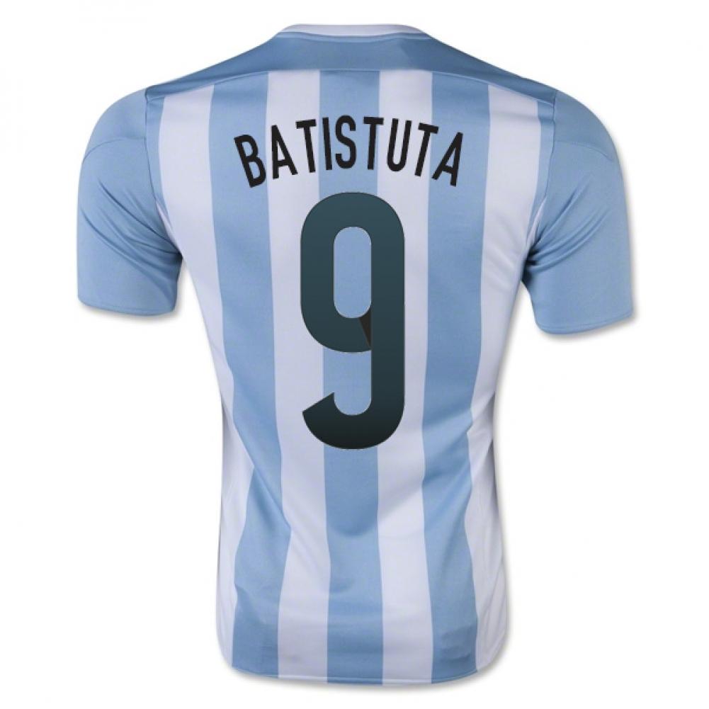 2015-16 Argentina Home Shirt (Batistuta 9)