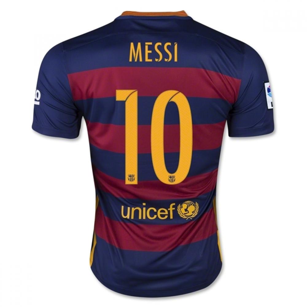 2015-16 Barcelona Home Shirt (Messi 10) - Kids