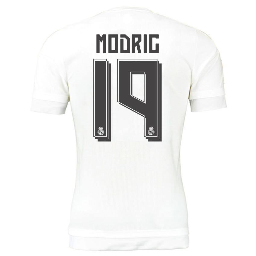 2015-16 Real Madrid Home Shirt (Modric 19) - Kids