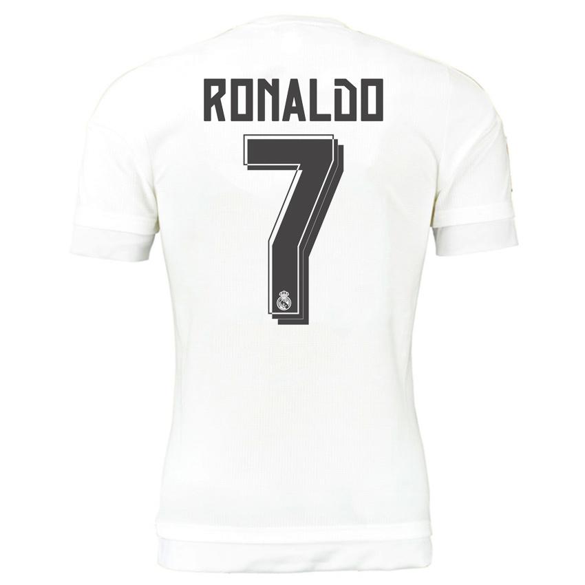 2015-16 Real Madrid Home Shirt (Ronaldo 7) - Kids