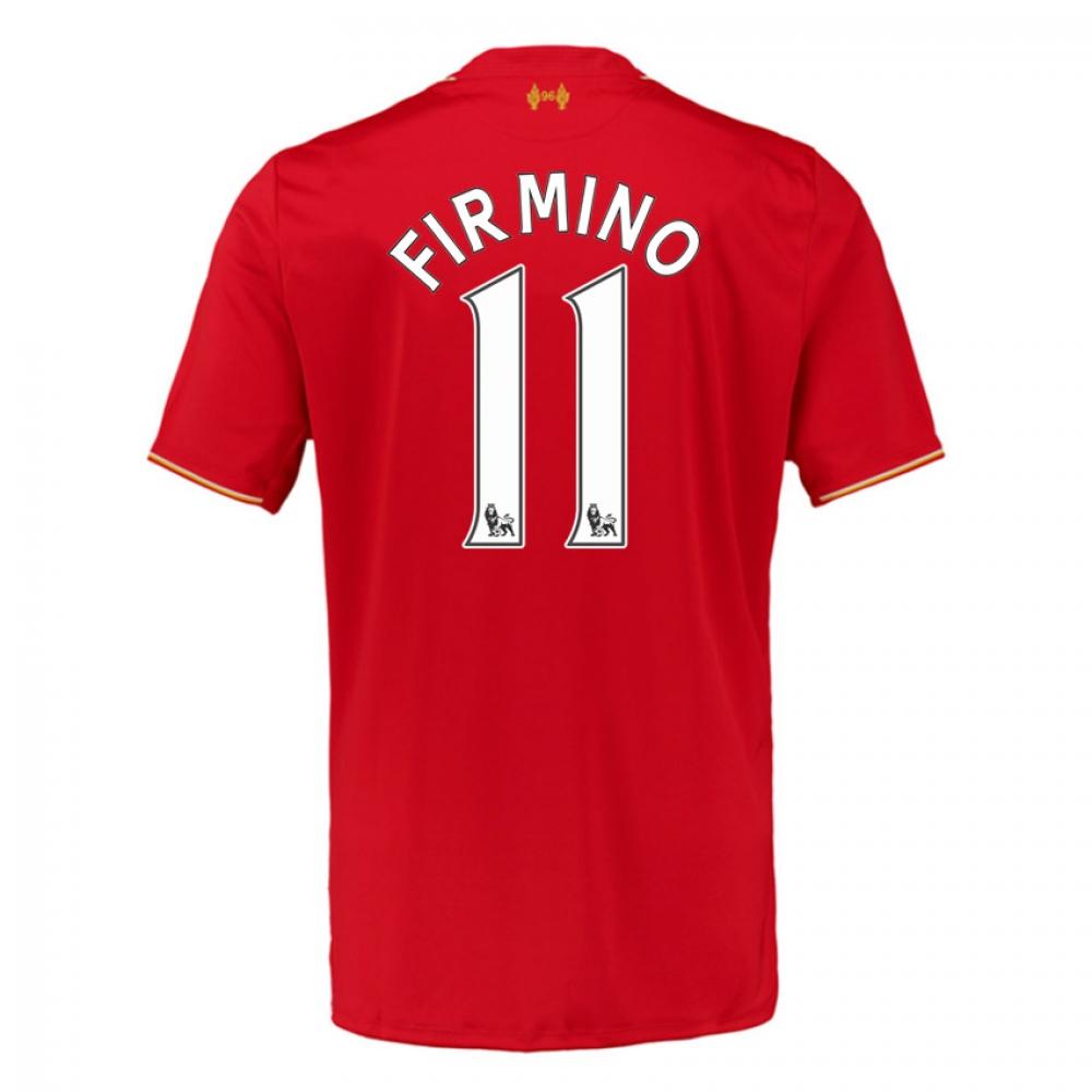 2015-16 Liverpool Home Shirt (Firmino 11)