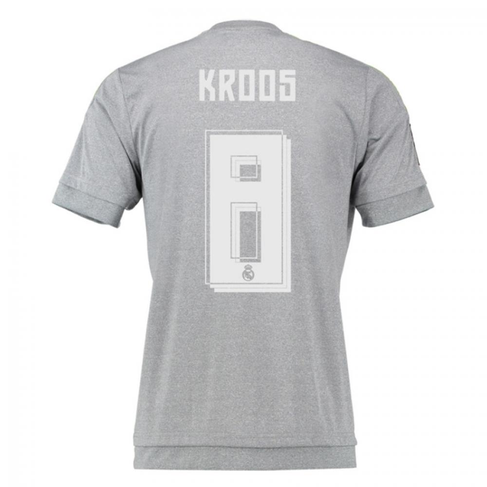 2015-16 Real Madrid Away Shirt (Kroos 8)