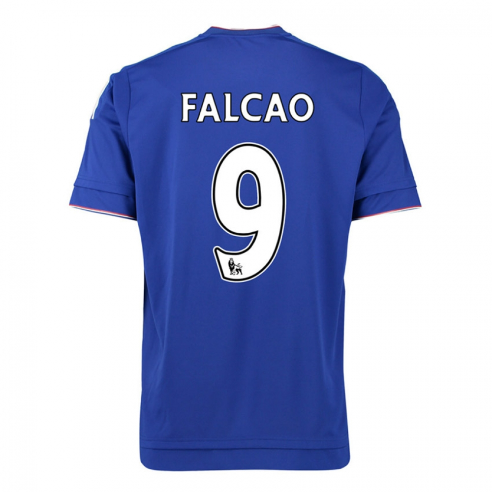 2015-16 Chelsea Home Shirt (Falcao 9) - Kids