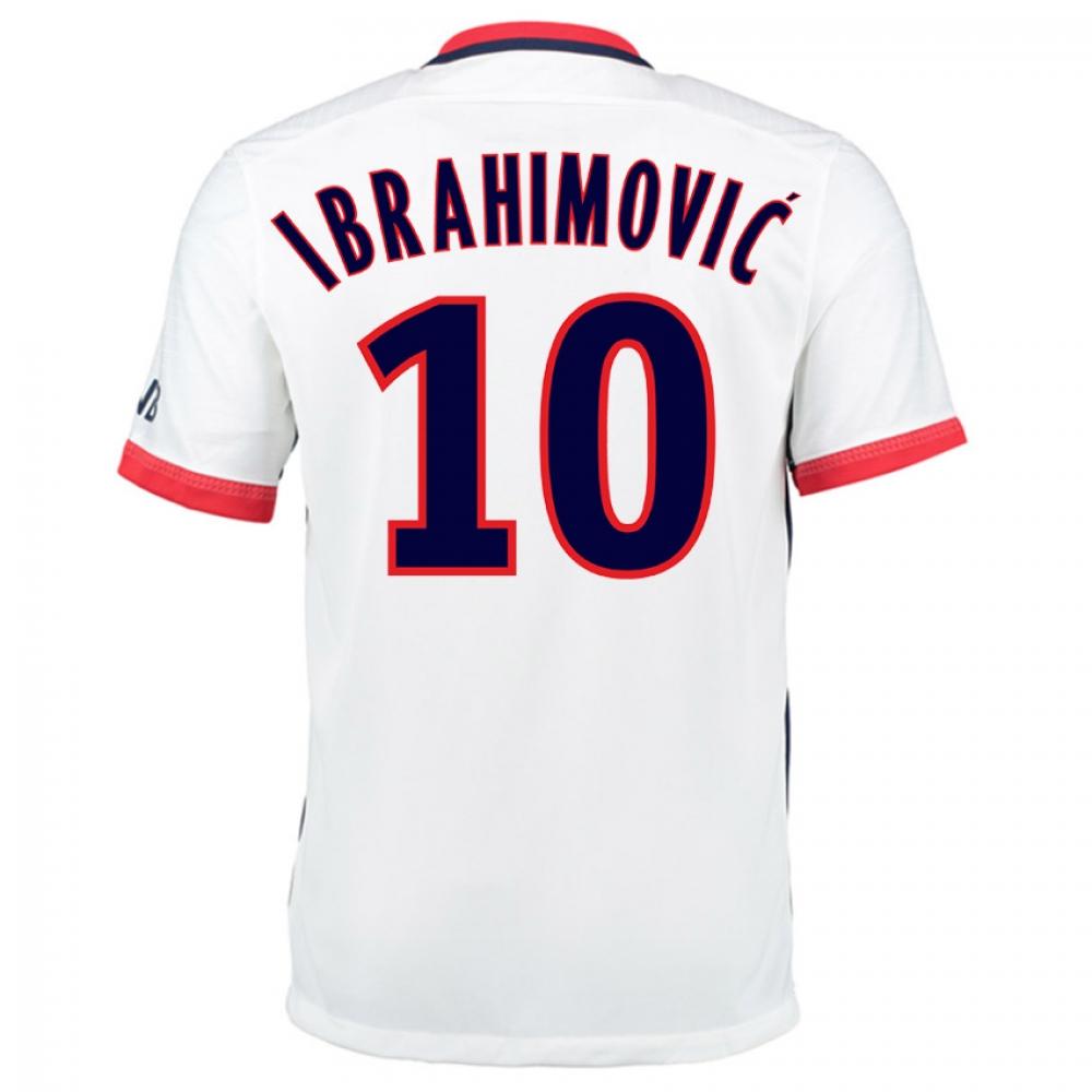 2015-16 PSG Nike Away Kit (Ibrahimovic 10) - Kids