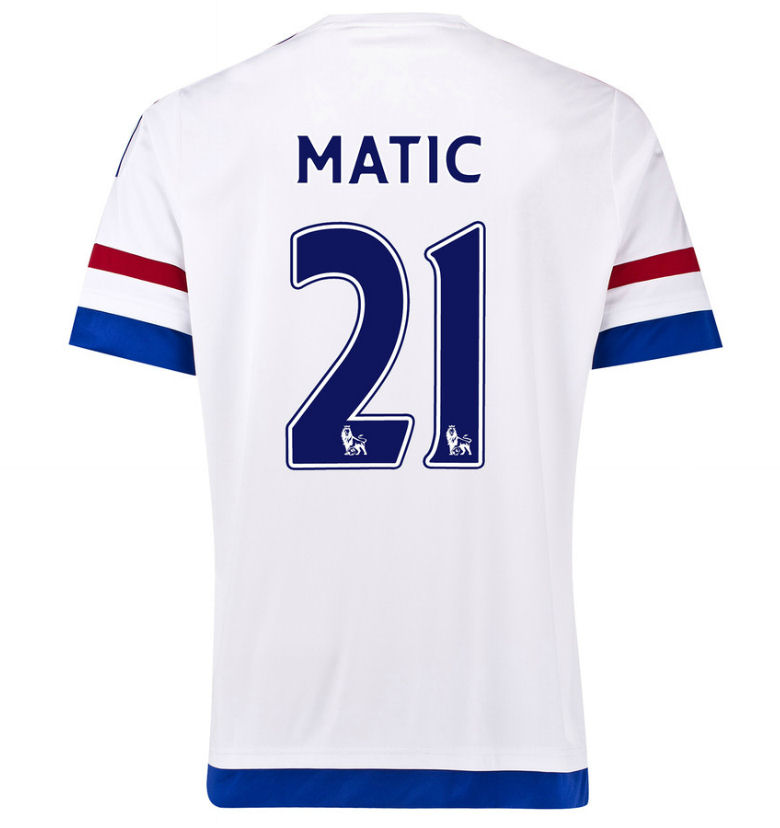 2015-2016 Chelsea Away Shirt (Matic 21)