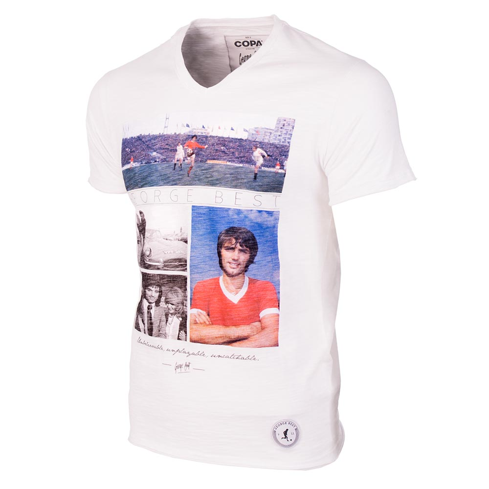 George Best Unbelievable T-Shirt (White)