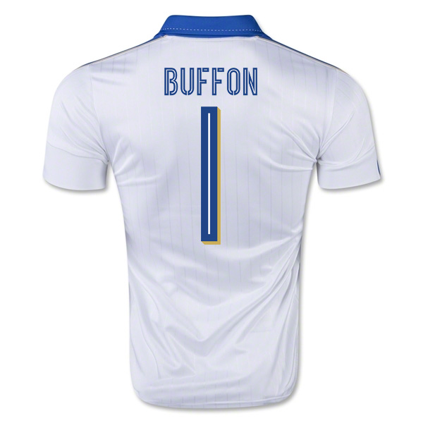 2015-16 Italy Away Shirt (Buffon 1) - Kids