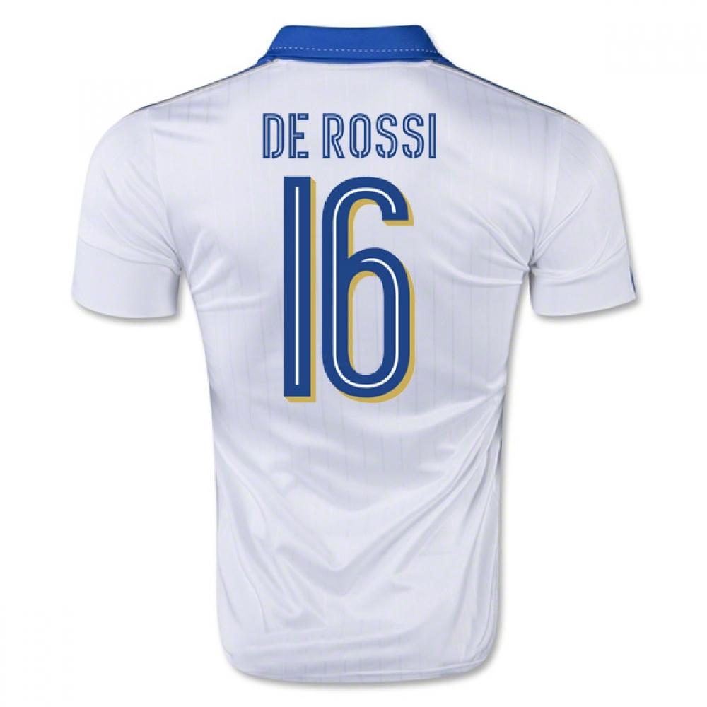 2015-16 Italy Away Shirt (De Rossi 16) - Kids