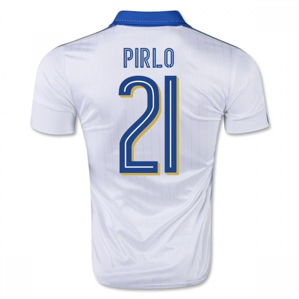 2015-16 Italy Away Shirt (Pirlo 21)