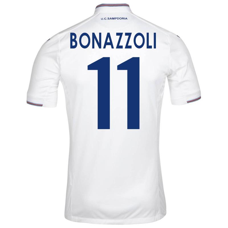 2015-16 Sampdoria Away Shirt (Bonazzoli 11) - Kids
